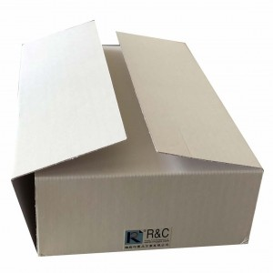 Rigid Box With Corrugated Wraps