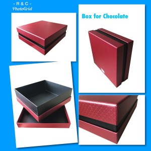 PG90 - Metallic Paper Gift Box