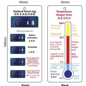 Seafood Smart-tag (3°C)