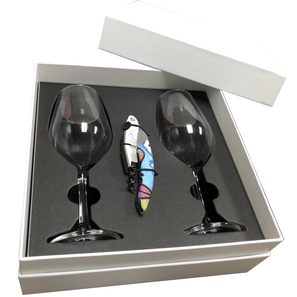 PG101 - Red Wine Glass Paper Box